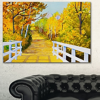 Parkland Trails Photography Metal Wall Art, 28x12, (MT6506-28-12)