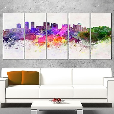 Colombo Skyline Cityscape Metal Wall Art