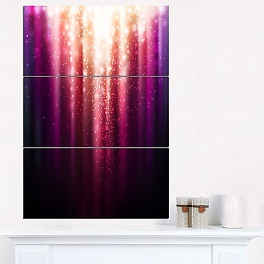 Magic Light Abstract Metal Wall Art