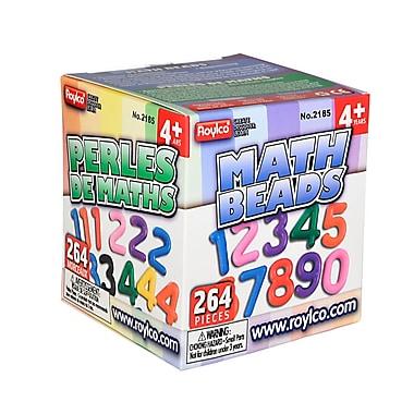 Roylco – Perles de mathématiques R2185, 264/paquet