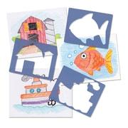 Roylco R55010 Animal Track Stampers, 24/Pack