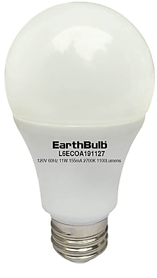 EarthBulb® Eco 11.5W Daylight LED Bulb, 6 Pack (10244-6)