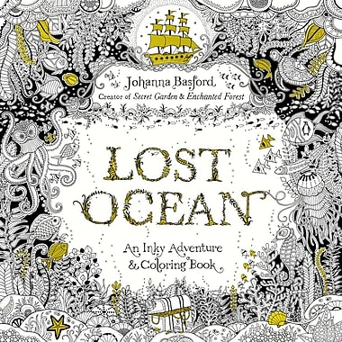 Lost Ocean Adult Colouring Book By Johanna Basford Paperback 9780143108993