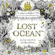 Lost Ocean Adult Colouring Book by Johanna Basford, Paperback (9780143108993)