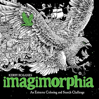 Imagimorphia Adult Colouring Book by Kerby Rosanes, Paperback (9780399574122)