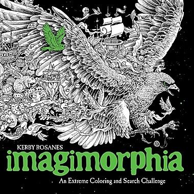 Livre à colorier pour adultes Imagimorphia by Kerby Rosanes, couverture souple (9780399574122)