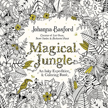 Magical Jungle Adult Colouring Book By Johanna Basford Paperback 9780143109006