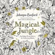 Livre à colorier pour adultes Magical Jungle de Johanna Basford, couverture souple (9780143109006)