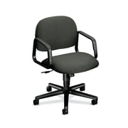 HON Solutions Seating Mid-Back Task Chair with Center-Tilt, Gray Olefin Fabric