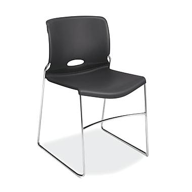 HON – Chaises empilables Olson haute densité, coque lave, paquet de 4