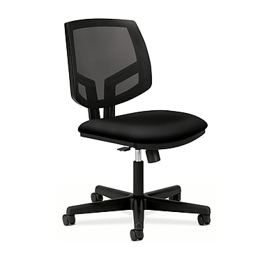 HON Volt Mesh Back Task Chair, Synchro-Tilt, Black Fabric