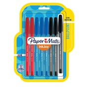 Paper Mate® InkJoy® 100ST Ballpoint Pens, Medium Point, Assorted, 8 Pack (1945930)
