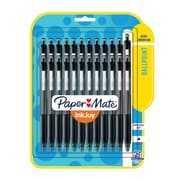 Paper Mate® InkJoy® 300 Retractable Ballpoint Pen, Medium Point, Black, 24/pk (1781569)
