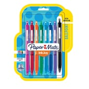 Paper Mate® InkJoy® 300RT Retractable Ballpoint Pens, Medium Point, Assorted, 8/pk (1945921)