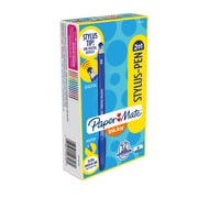 Paper Mate® InkJoy® 2 in 1 Stylus Ballpoint Pens, Medium Point, Blue, Box of 12 (1951349)