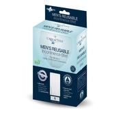 Care Active Men's Reusable Incontinence Brief 10oz Xlarge Single (6255-10-1X-WHT)