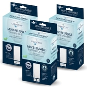 Care Active Men's Reusable Incontinence Brief 10oz Xlarge 3-Pack (6255-10-1X-3PK)