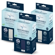 Care Active Men's Reusable Incontinence Brief Assorted Colors Large 3-Pack(6255-1C-AST)