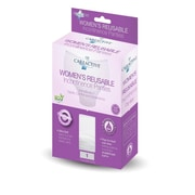 Care Active Ladies Reusable Incontinence Panty 6oz 3X Large Single (2465-3X-WHT)