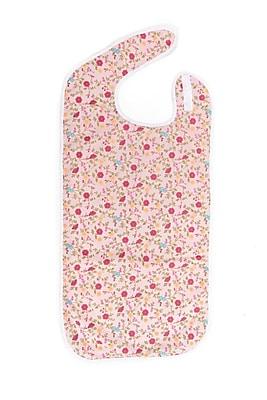 Care Active Shirt Saver Bib Husky Pink Floral (9987-HUS-PF)