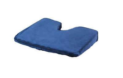 Care Active Coccyx Wedge Cushion Memory Foam Navy (0228MV-0-NAV)