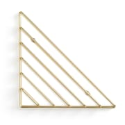 Umbra Strum Wall Shelf, Brass