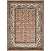 "ecarpetgallery 5'6"" x 7'6"" Medallion style Rug, Copper"