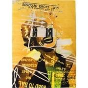 "ecarpetgallery 5'5"" x 7'8"" Punk Rug, Yellow"