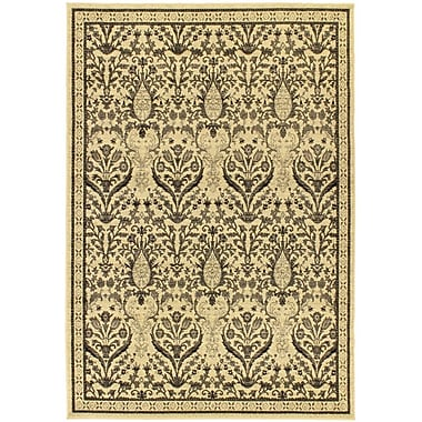 Ecarpetgallery – Tapis Classic Jardin, 5 pi 5 po x 7 pi 9 po, ivoire