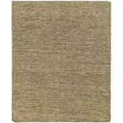 "ECARPETGALLERY 4'8"" x 5'8"" Natural Kilim, Brown"