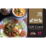Thai House Restaurant Group, carte-cadeau de 25 $
