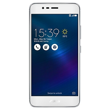 ASUS – Téléphone intelligent déverrouillé de 5,2 po Zenfone 3 Max, 16 Go, gris (ZC520TL-MT67-2G16GN-SL)