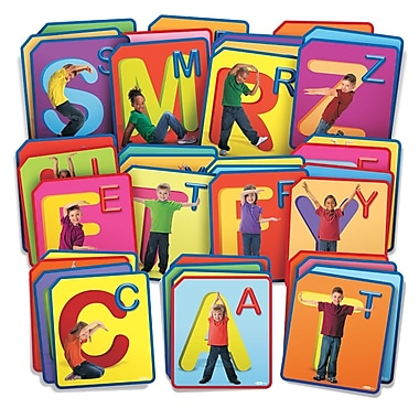 Roylco – Cartes d'exercice Twist and Spell R62017, 48/paquet