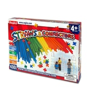 Roylco R60881 Straws & Connectors™, 400/Pack