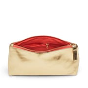 Poppin Gold + Coral Medium Accessory Pouch