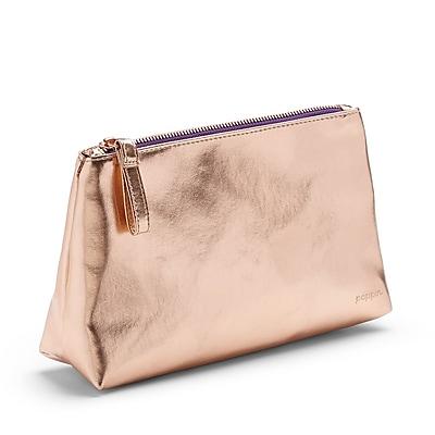 Poppin, Copper + Purple, Medium Accessory Pouch (102248)