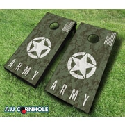 Click here to buy AJJCornhole 10 Piece US Army Digital Camo Cornhole Set; Royal.