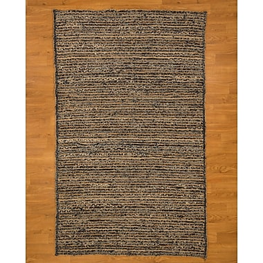 Natural Area Rugs Riggins Hand Woven Blue Area Rug; 8' x 10'