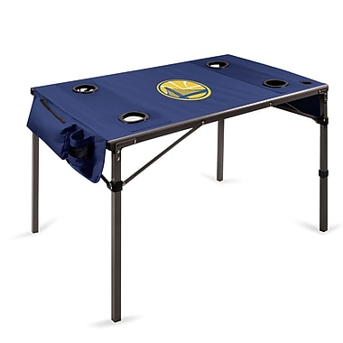 Picnic Time Travel Table; Golden State Warriors/Navy