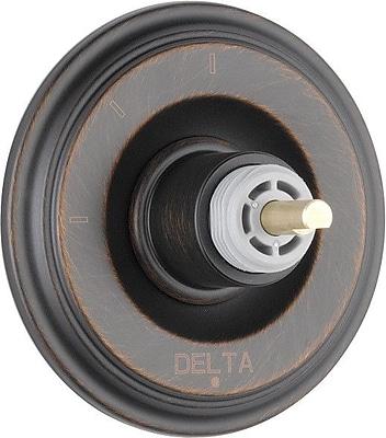 Delta Cassidy 3 Function Diverter Valve Trim; Venetian Bronze