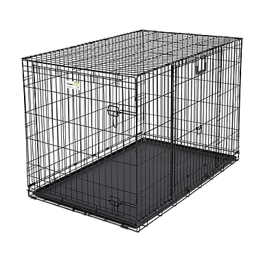 Midwest Homes For Pets Ovation Trainer Double Door Pet Crate; 48''