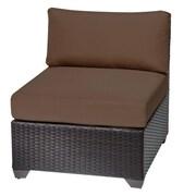 TK Classics Side Chair; Cocoa