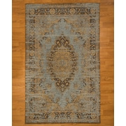 Natural Area Rugs Blue Area Rug; 8' x 10'