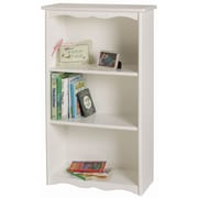 Little Colorado Traditional Child's 40'' Bookcase; White MDF
