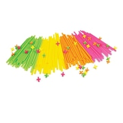 Roylco R60705 Neon Straws and Connectors™, 300/Pack
