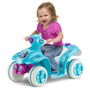 KidTrax 6V Disney Frozen Toddler Quad, Blue