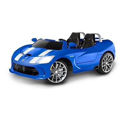 KidTrax – Jouet-porteur Dodge Viper de 12 V, bleu