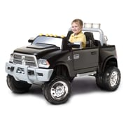 KidTrax 12V RAM 3500 Dually, Black