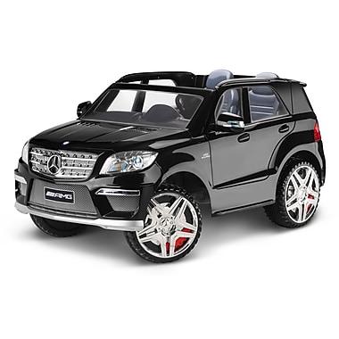 KidTrax – Jouet-porteur Benz ML63 de 12 V, noir