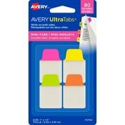 Avery® - Onglets Ultra Tabs, 1 po x 1,5 po, paq./80